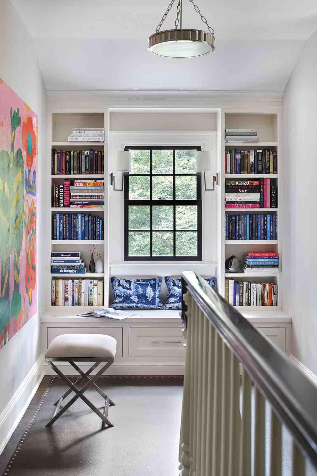 Upstairs Hallway – Summit, NJ Home Renovation