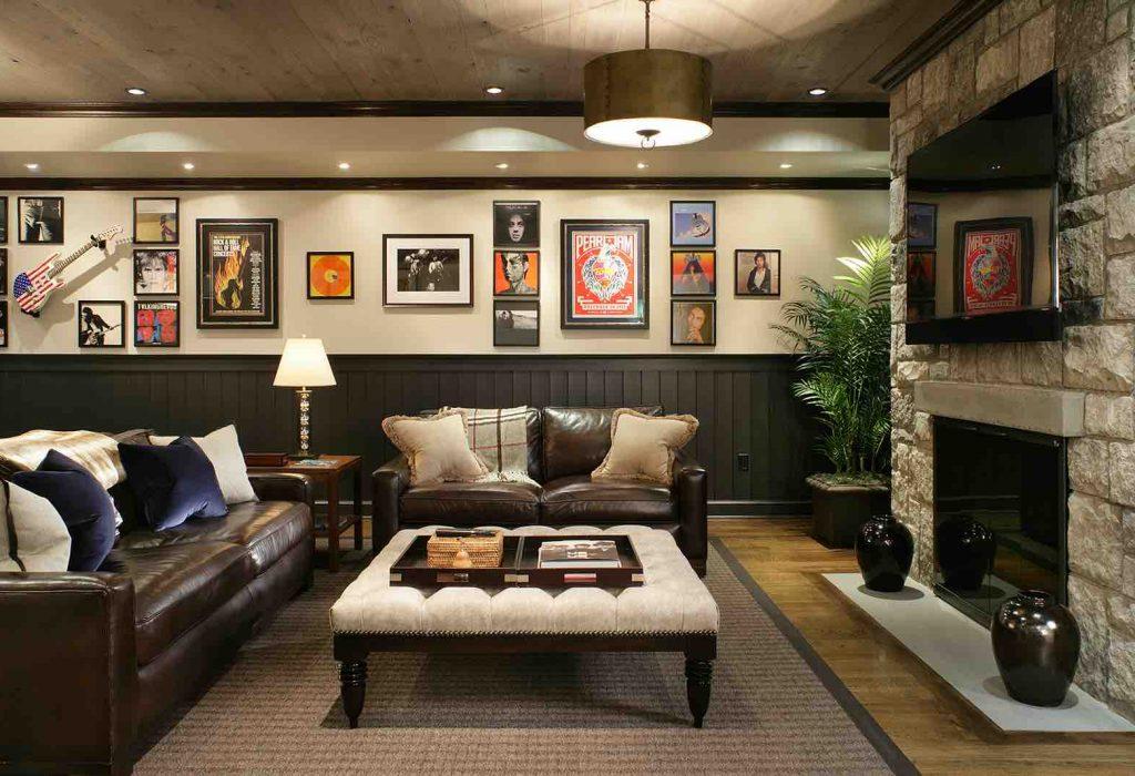 Finished Basement Interior Design