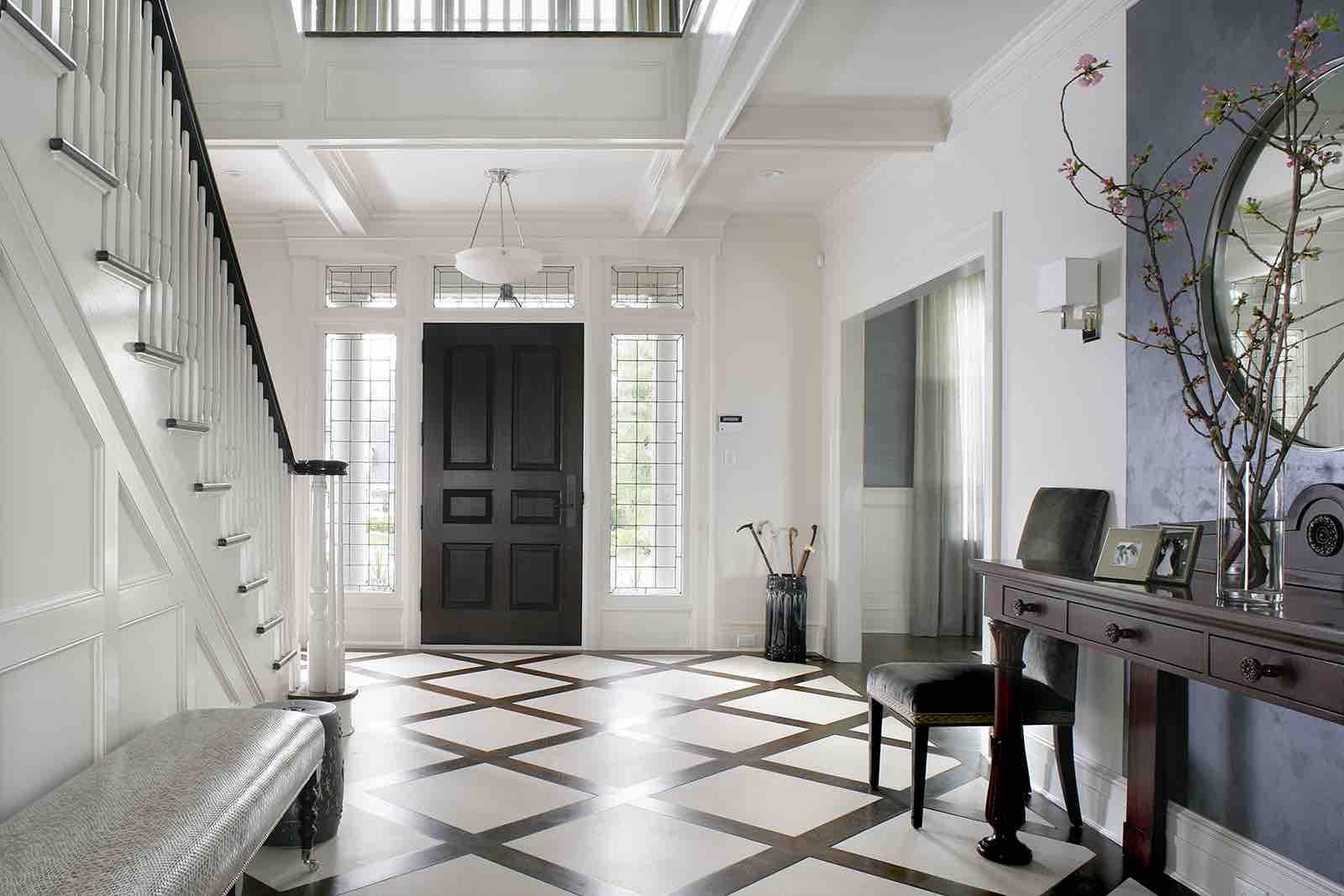 White Interiors - Foyers