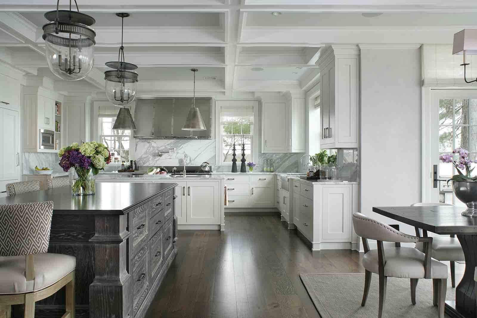 White Interiors – Kitchens