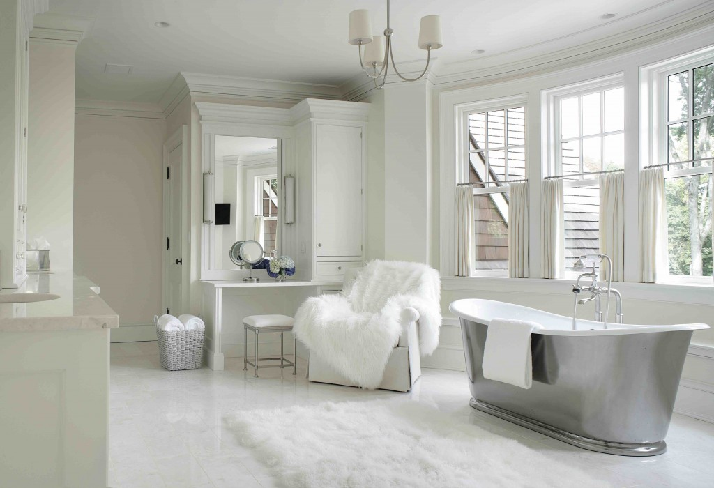 White Bathroom Design