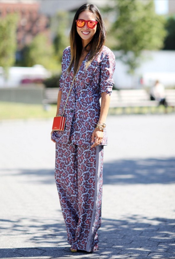Vogue - How to Wear: Pyjamas by Day