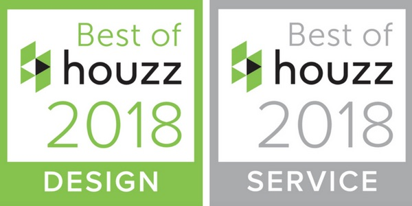 Houzz Best of Design & Service Awards 2018