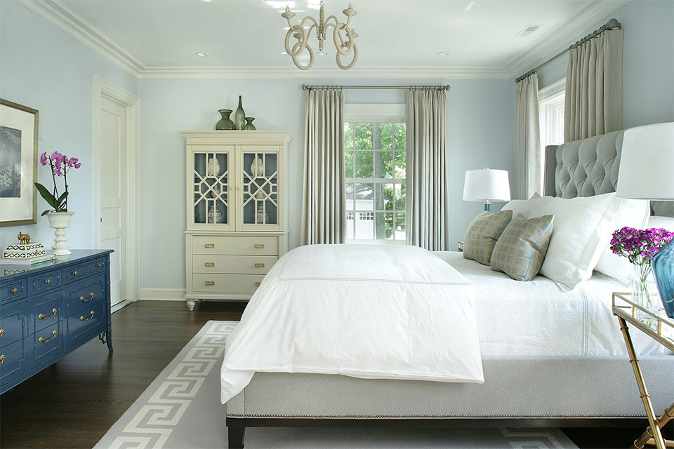 Gray Summit Bedroom