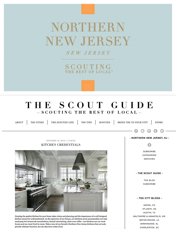 The Scout Guide - Kitchen Credentials