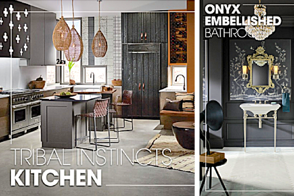 Gray Kitchens and Bathrooms