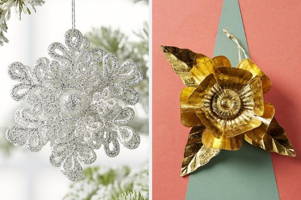 Silver & Gold Ornaments