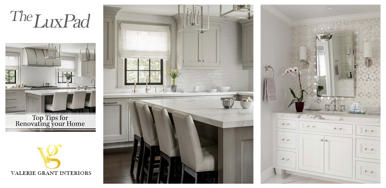Top Tips for renovating your home kitchens and bathrooms