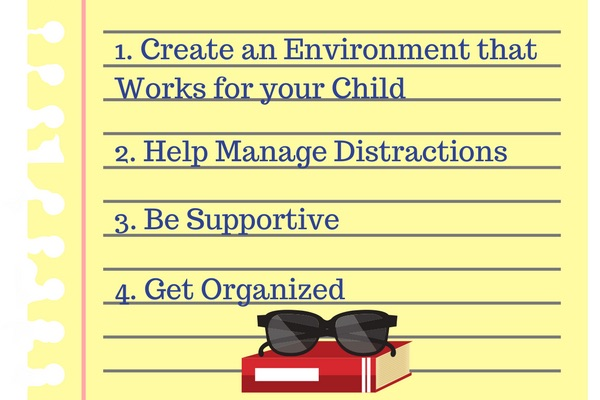 How to Help Your Kids Study